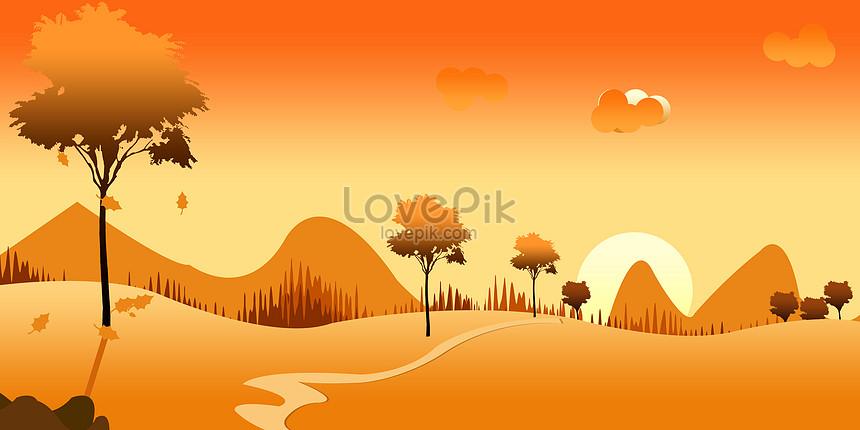 foto de Photo de paysage dégradé dautomne_Numéro de l ...