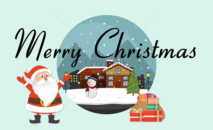 Christmas Vector Free Download.Christmas Vector Illustration Backgrounds Image Picture Free