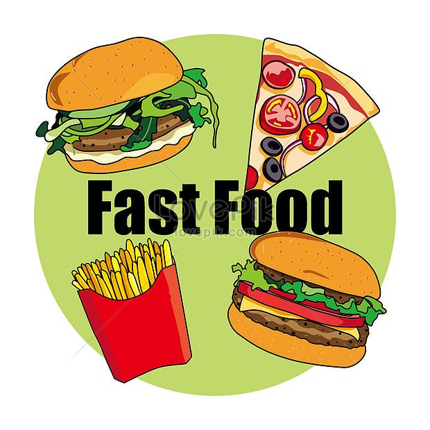 Contoh Gambar Ilustrasi Makanan Aku Ruhana