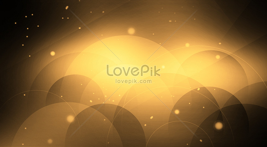 Geometric Abstract Background Of Black Gold Backgrounds