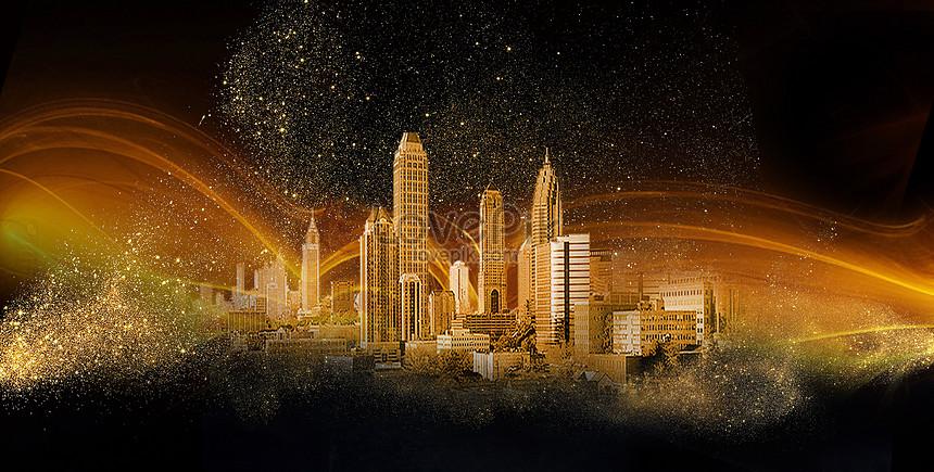 Siyah Altın şehir Arka Plan Resimarka Numarası 400083245trlovepikcom