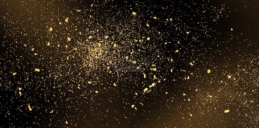 black gold splashing background