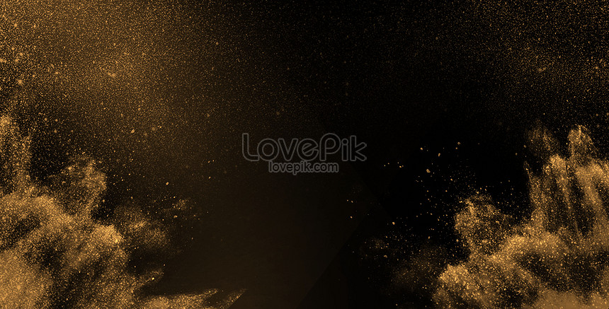 abstract background of black gold