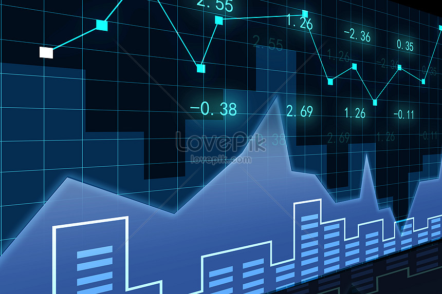 Stock market data backgrounds image_picture free download