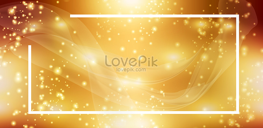 year end atmospheric gold background material