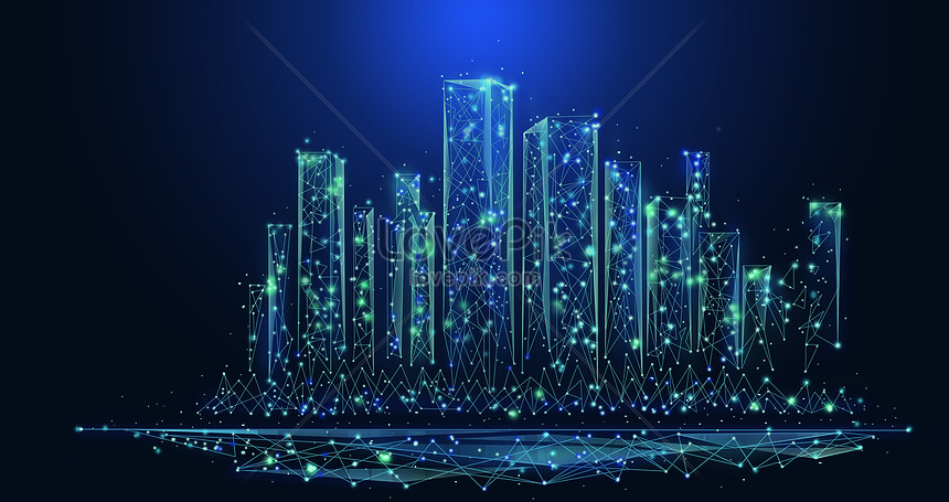 data background of scientific and technological cities