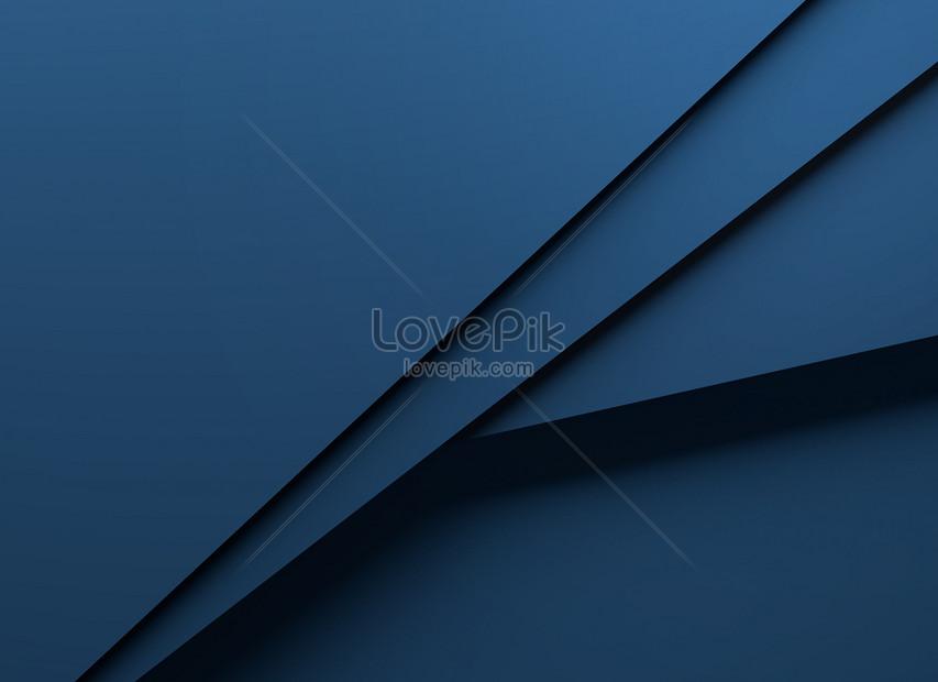 blue simple geometric card background
