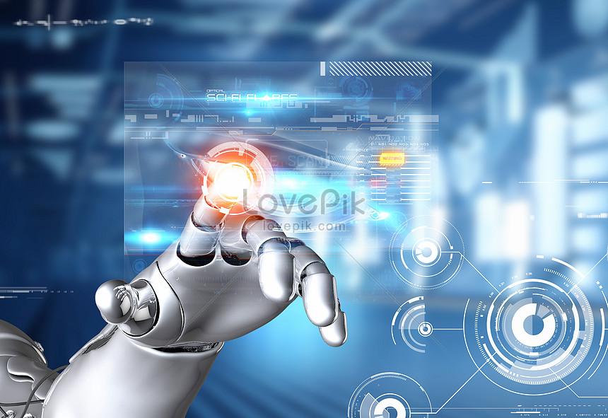 Робот искусственного интеллекта