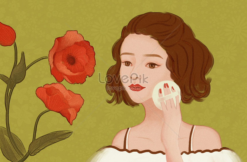 beauty beauty illustration