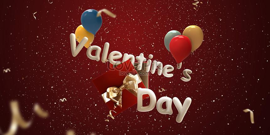 cartel del dia de san valentin