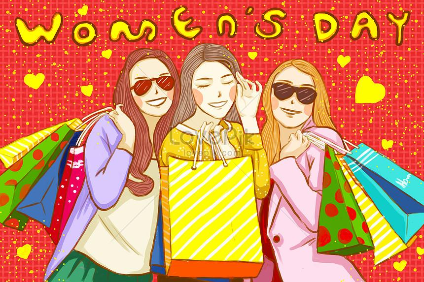 女の子の日の買い物