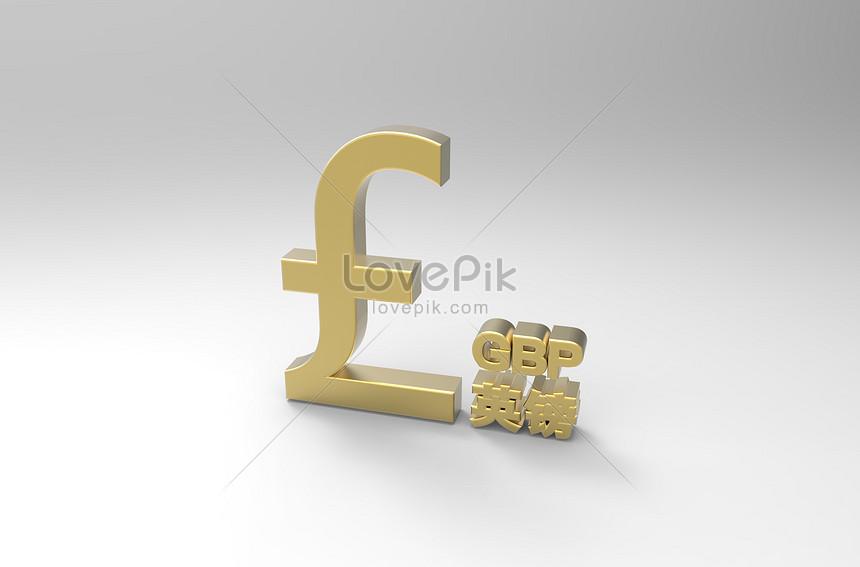 Photo De Symbole De La Livre Sterling Numero De L
