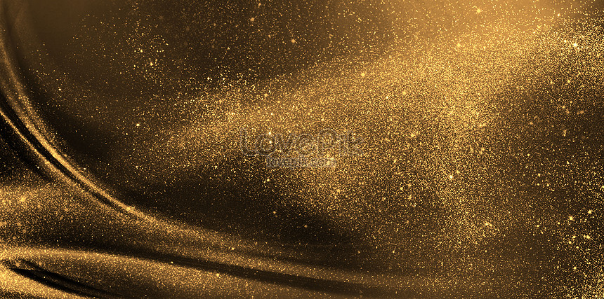 black gold abstract background