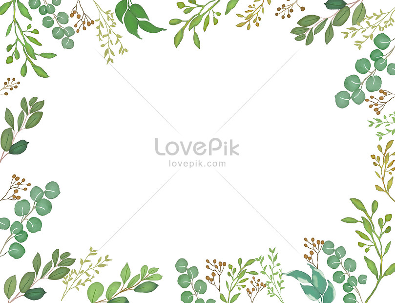 Watercolor And Green Leaf Background Backgrounds Image Picture Free Download 400115913 Lovepik Com