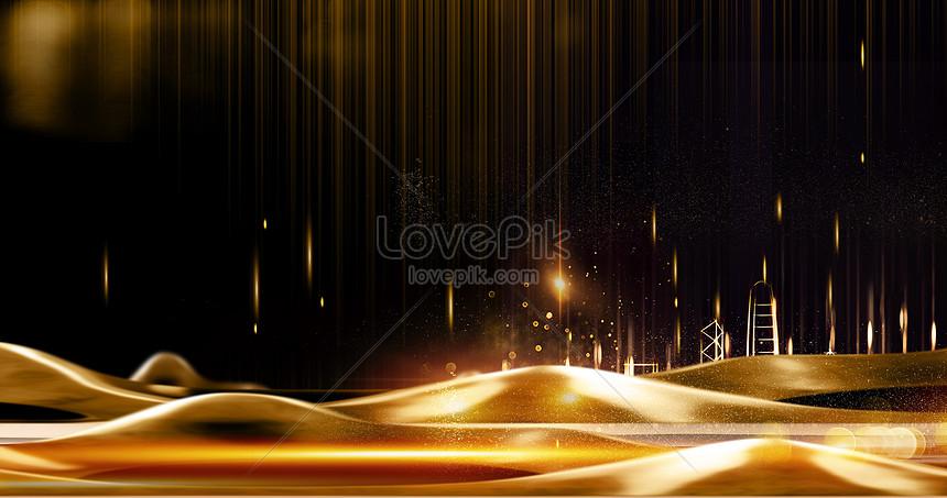 black gold atmospheric real estate background