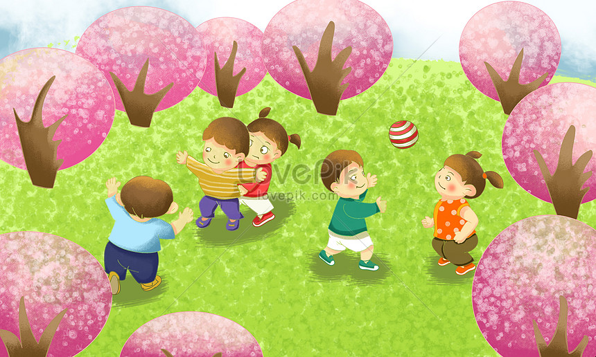 Goede buitenactiviteiten voor kinderen Gratis Afbeelding_downloaden JX-66