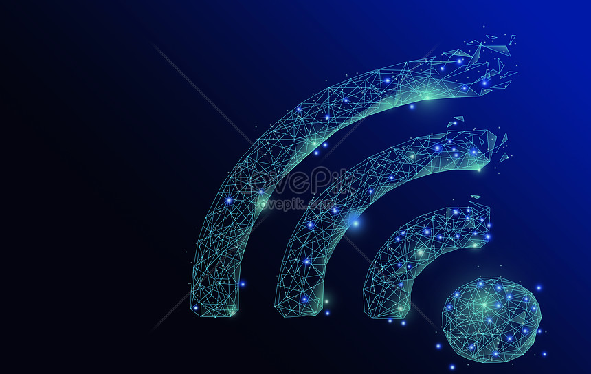 Wifi information technology background backgrounds