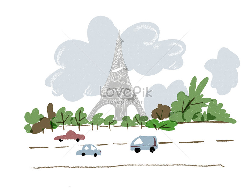 Eiffel Tower Paris France Illustration Image Picture Free Download 400127119 Lovepik Com