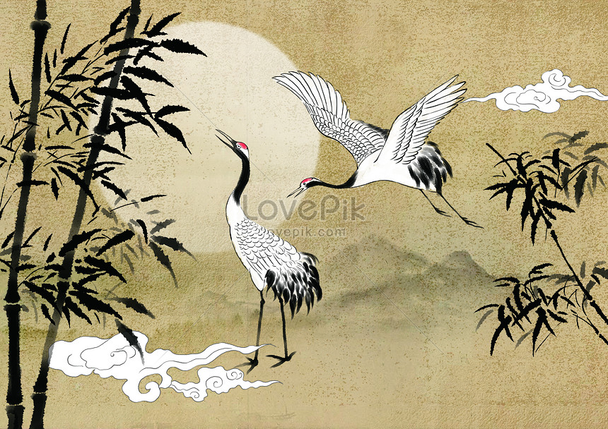 Chinese paintings of bamboo and bamboo in chinese painting