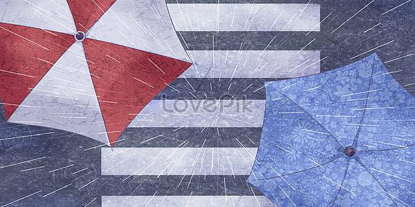 Overlook the umbrella Road jpg
