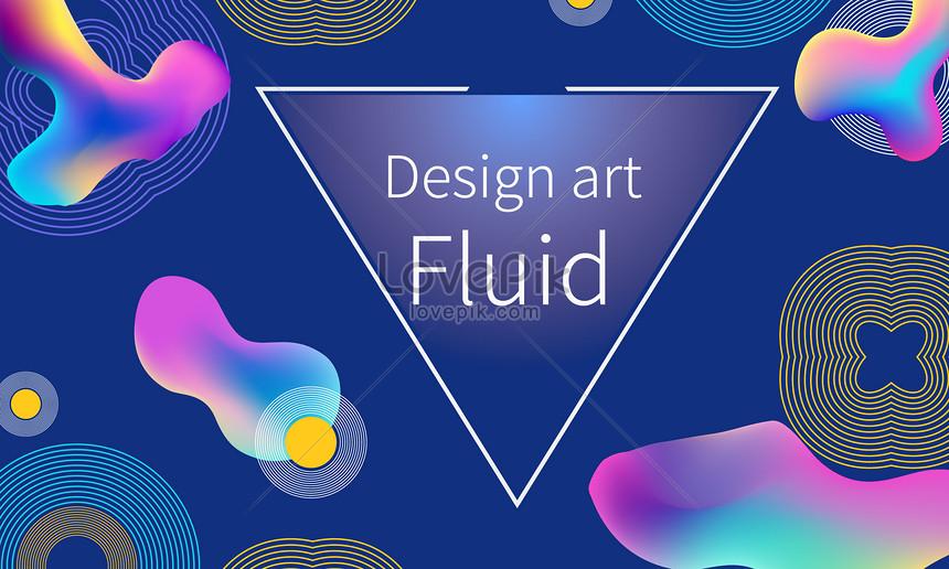 latar belakang gradien fluida