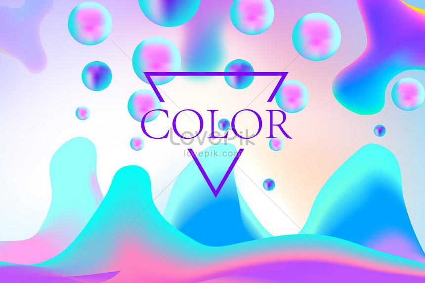 נוזל צבע הדרגתי