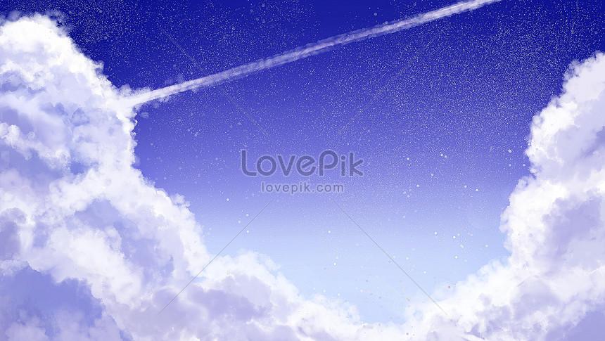 bầu trời xanh bạch vân