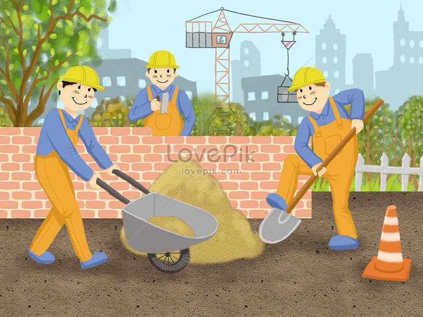 Pekerja Buruh Gambar Unduh Gratis Imej 400140586 Format Psd My Lovepik Com