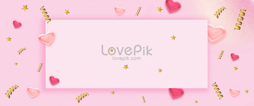 background of pink color ribbon