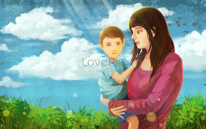 mothers day posters and hand painted kindergartens