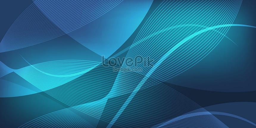藍色商業科技背景