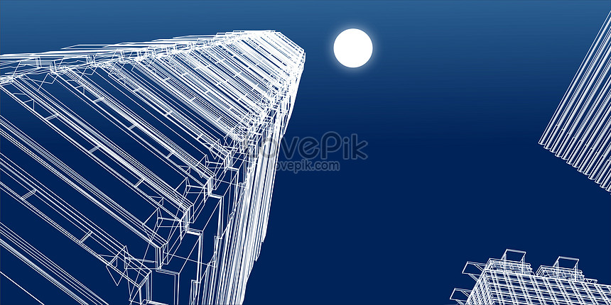 城市建築線條