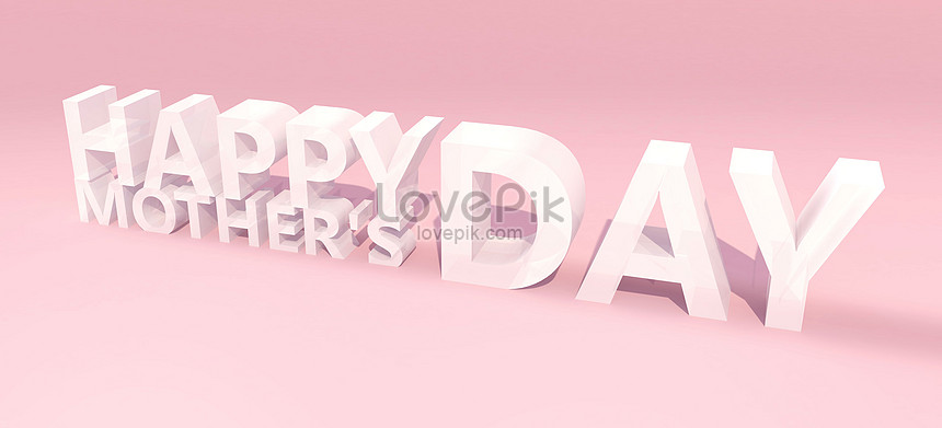 mothers day heart card making material