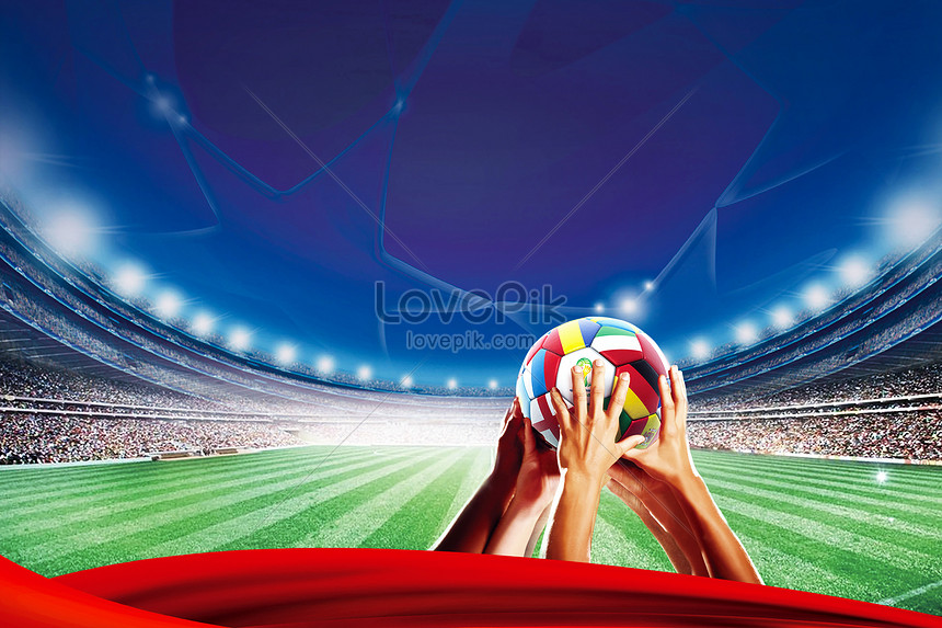 creative background of the world cup