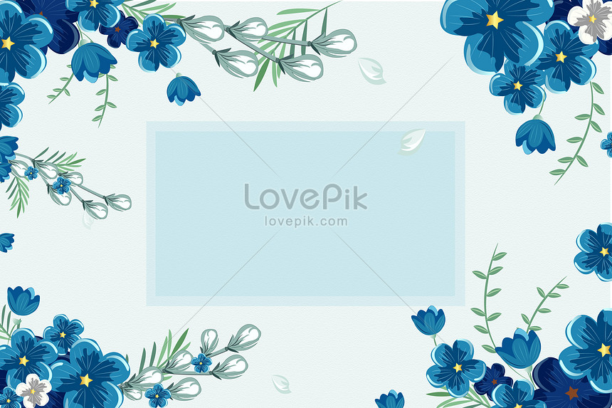 small fresh flower background