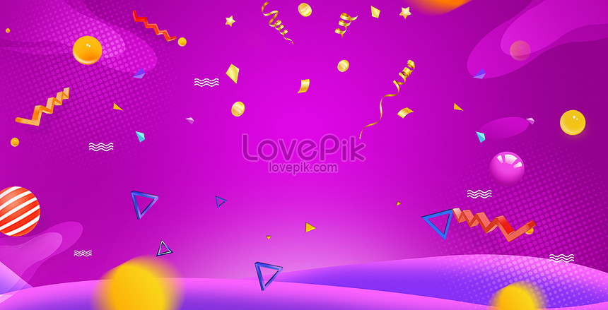 gradual color background of e commerce