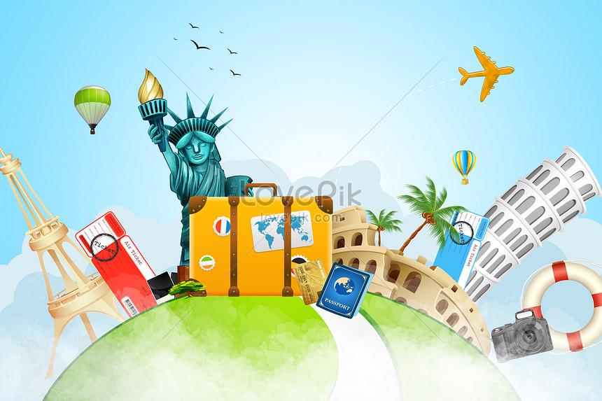 world tourism background