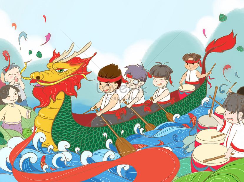 端午節賽龍舟