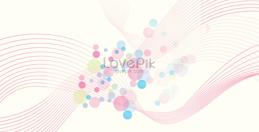 pink curve background