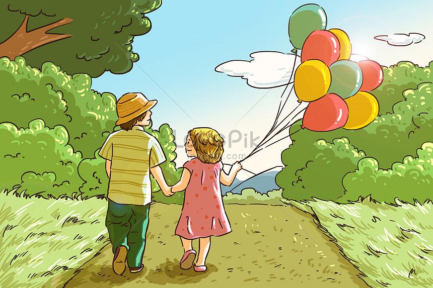 childrens day illustration