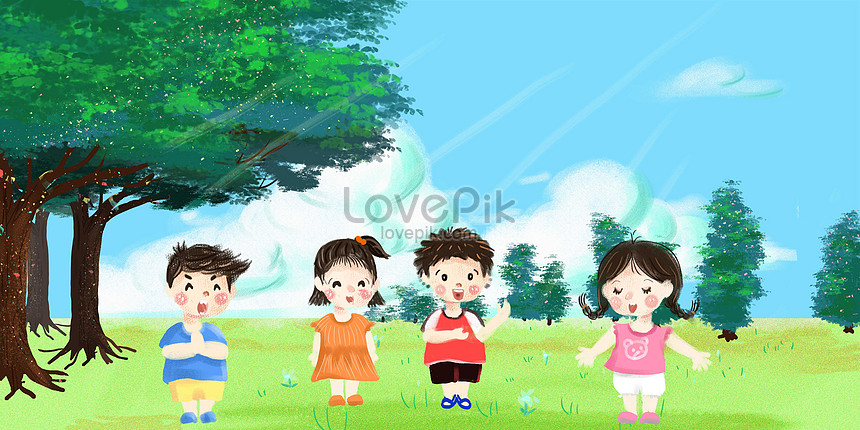 childrens day paintings