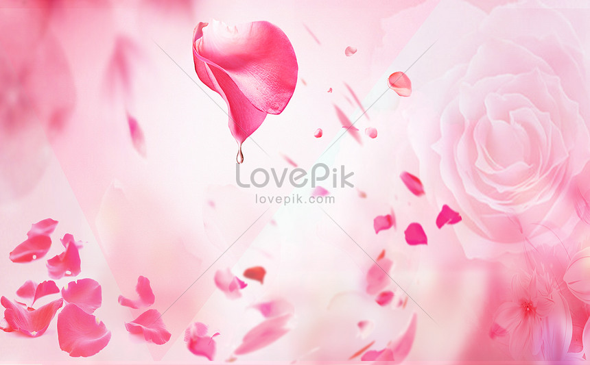 Petal Beauty And Skin Care Background Backgrounds Image Picture Free Download 400162010 Lovepik Com