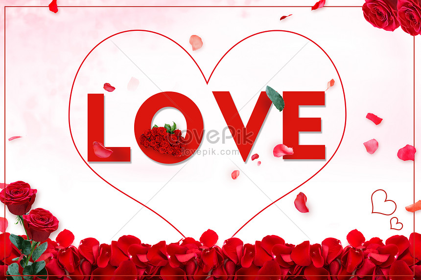 rose love background