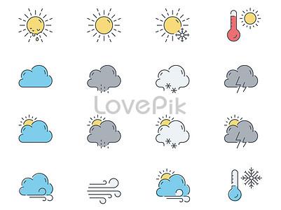 Weather icon element jpg