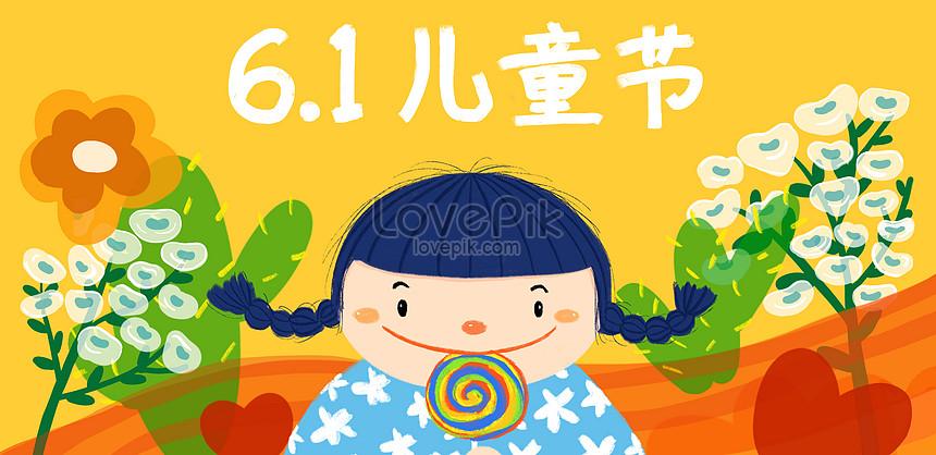 childrens day illustration background