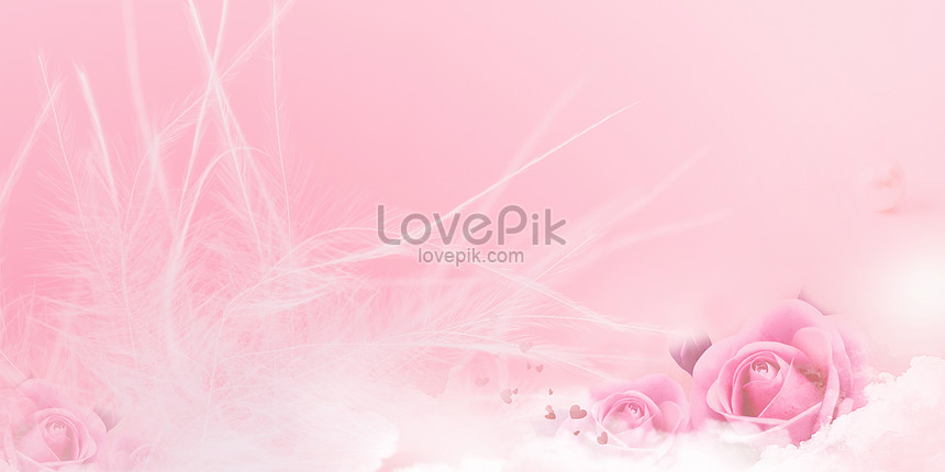 pink romantic flower background