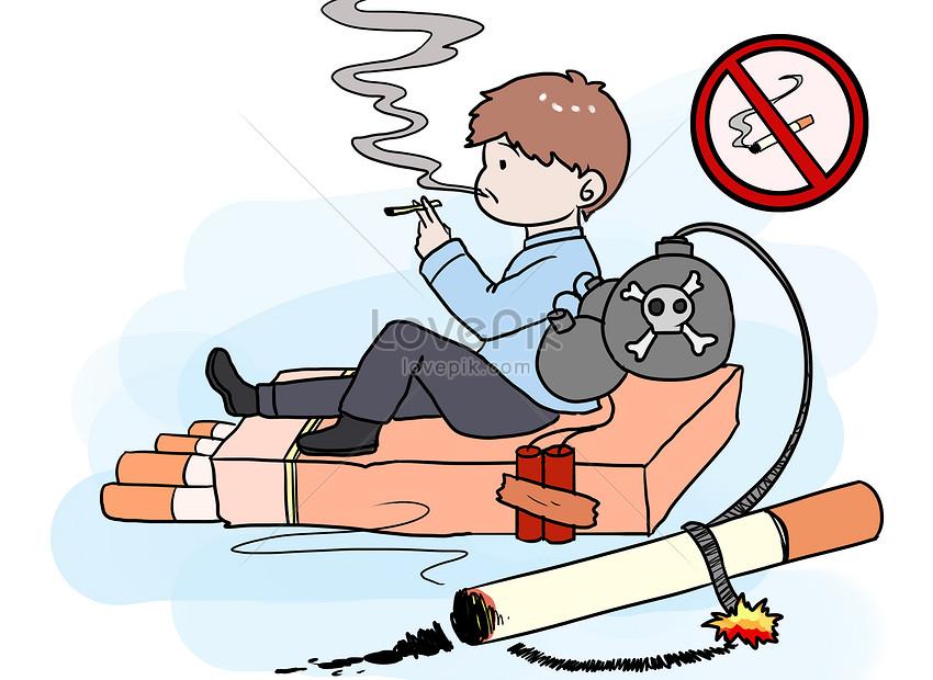 journée mondiale du tabac sans bandes dessinées