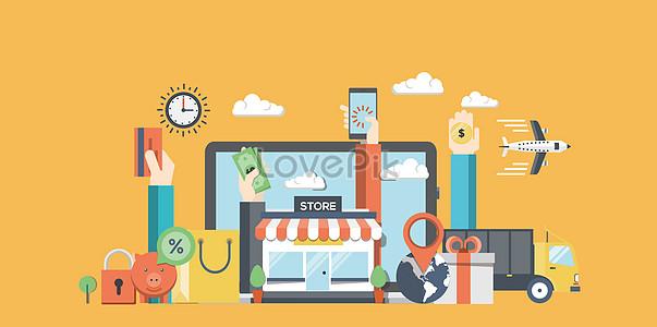 online shopping payment logistics jpg