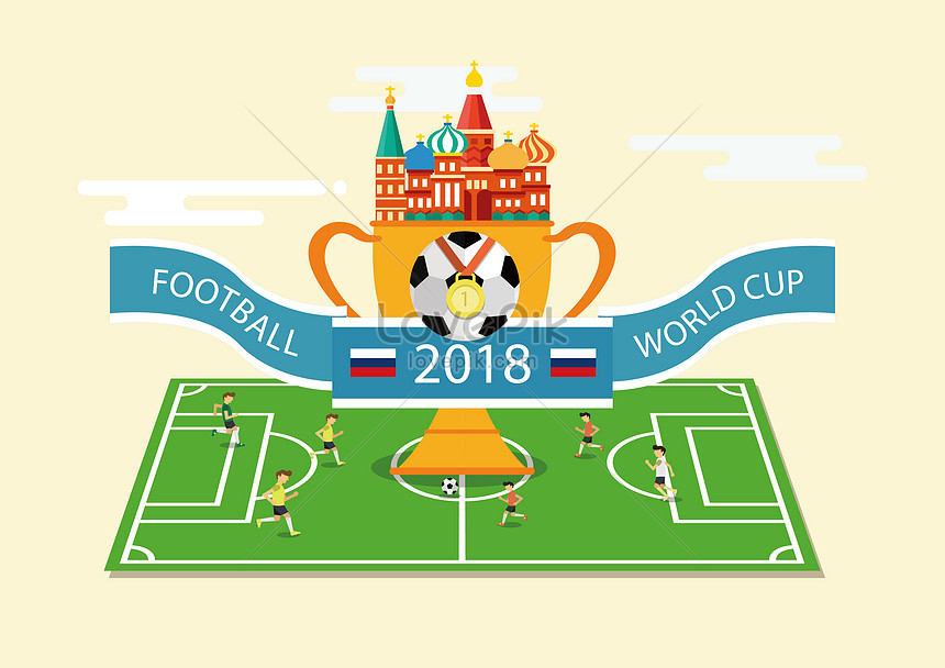 Russia world cup illustration image_picture free download