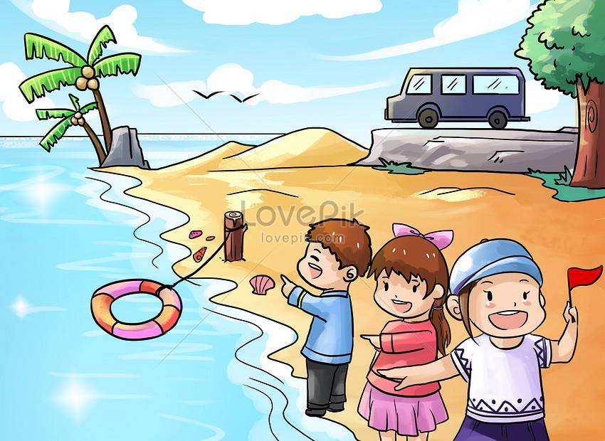 Tourist Illustration Illustration Image Picture Free Download 400206533 Lovepik Com